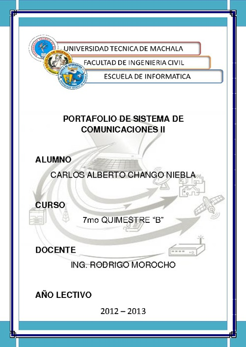SISTEMAS DE COMUNICACIONES II