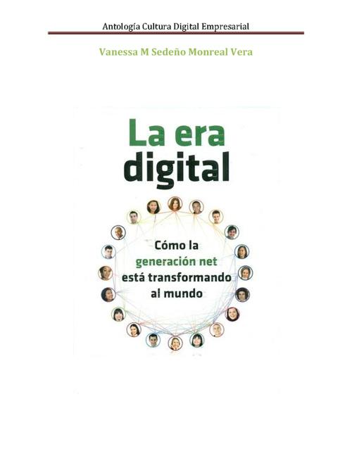Antología Cultura Digital Empresarial