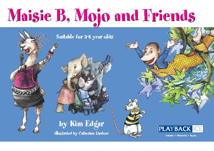 Maise B, Mojo and Friends