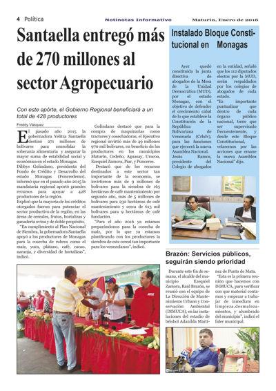 Notinotas Informativo Segunda Edición