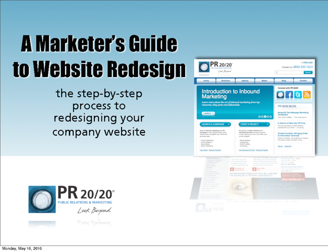 Marketers Guide to Website Redesign