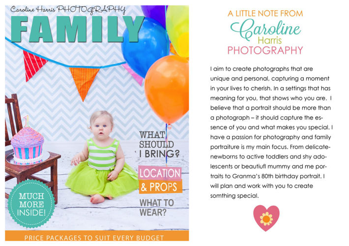 Family Portrait Package 2015