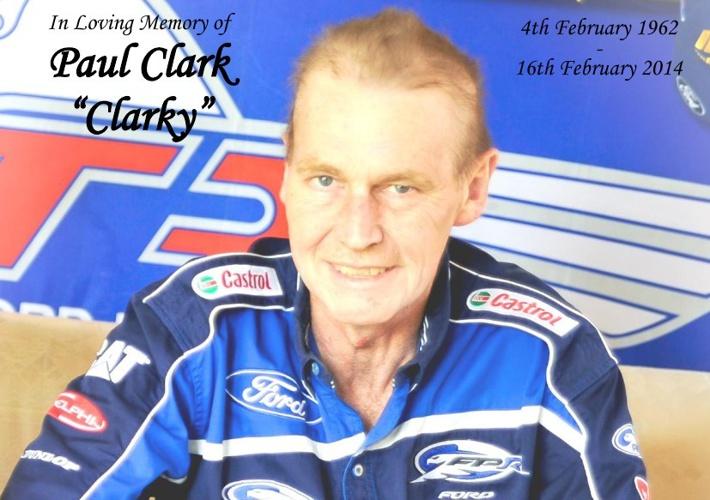 Memorial Card  for Paul Clark