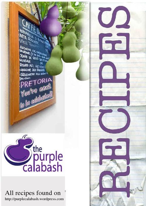 Recipes from Purplecalabash.com