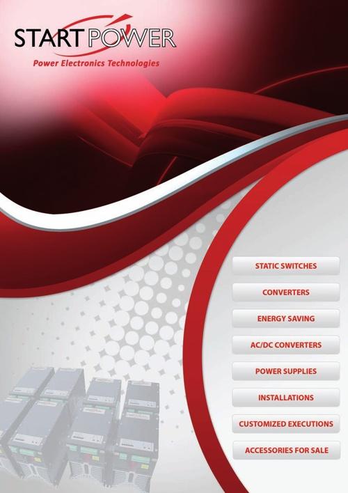 Catalogo START POWER - Rosso - ENG