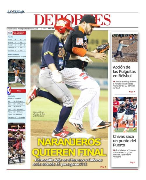 DEPORTES 19 ENERO 2014