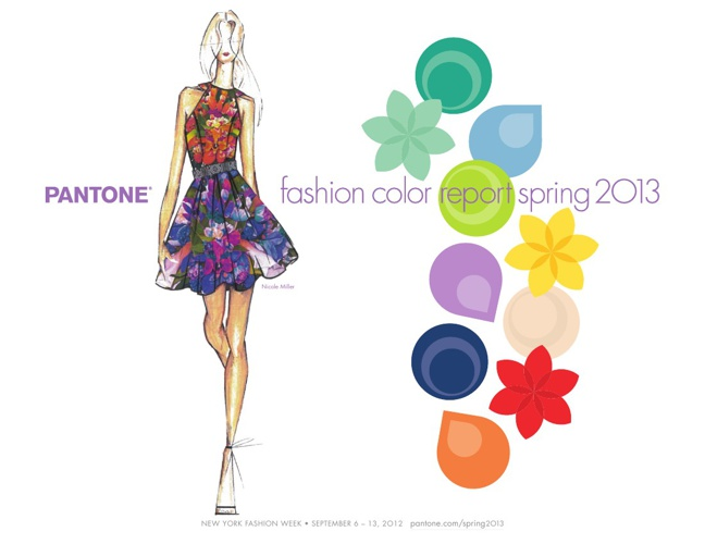 pantone fashion colours