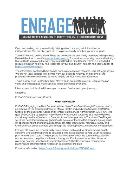 Engage Toolkit