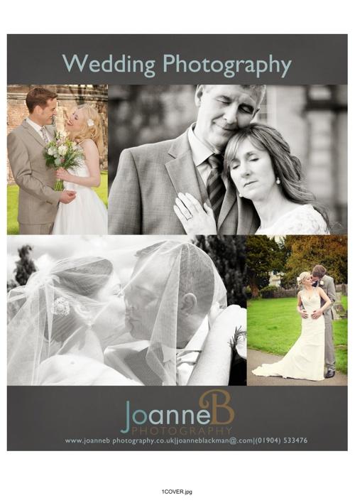 JoanneB Photography Wedding Brochure