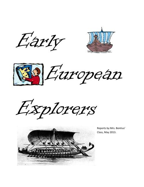 Mrs. Bontius' Early Explorers anthology