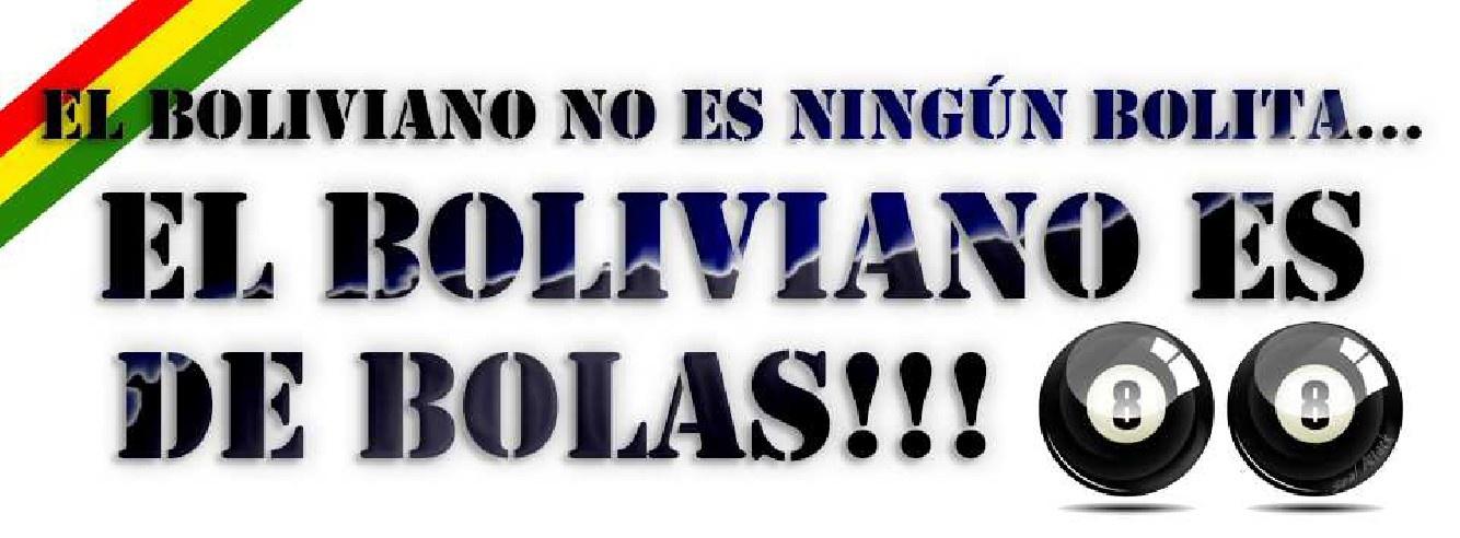 El boliviano es de bolas