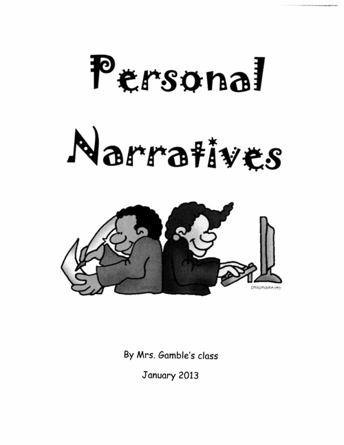 Personal Narratives 2013