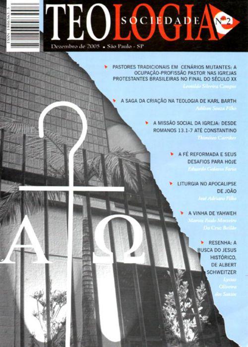 Revista Teologia e Sociedade nº 2