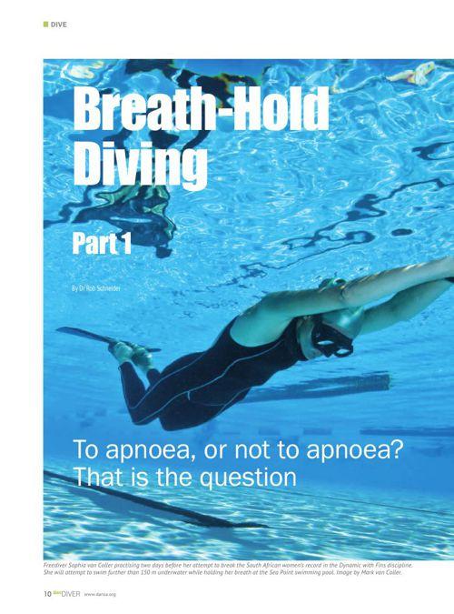 Alert Diver Articles
