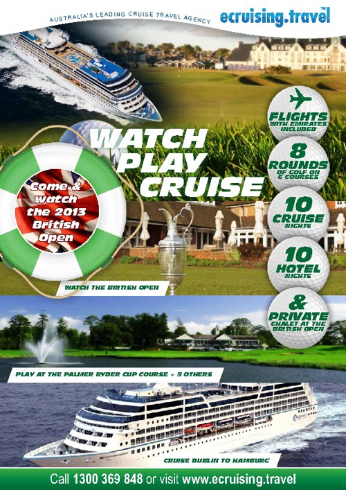 Watch, Play, Cruise