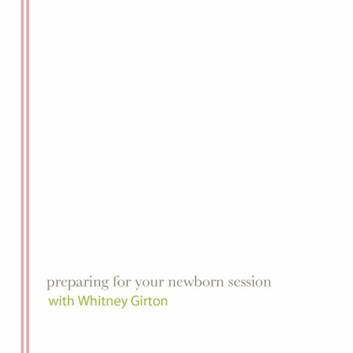 Copy of Newborn Session Prep Packet