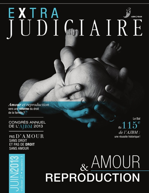 JOURNAL Extra Judiciaire