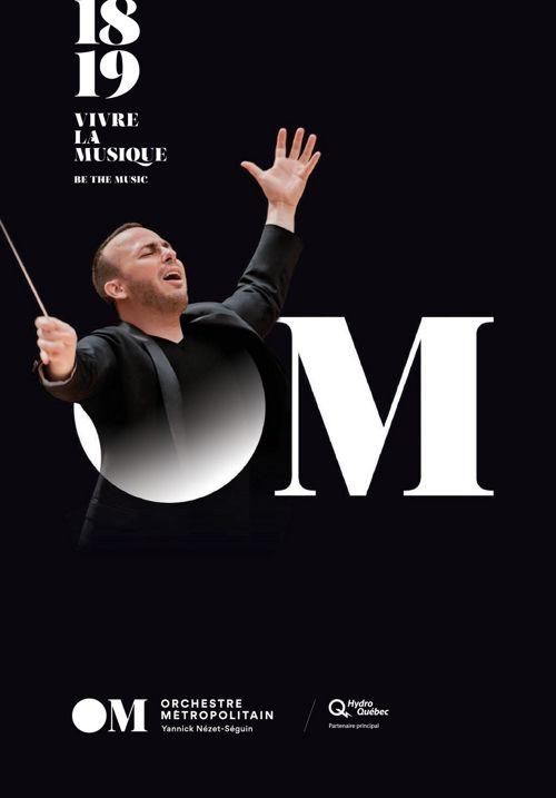 Orchestre Métropolitain Saison 2018-2019