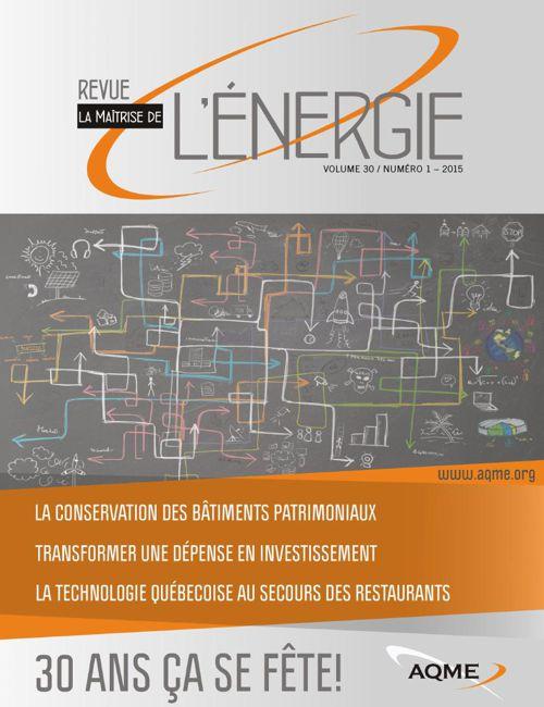 Maitrise de l'énergie - Vol30-Num1 - 2015 web