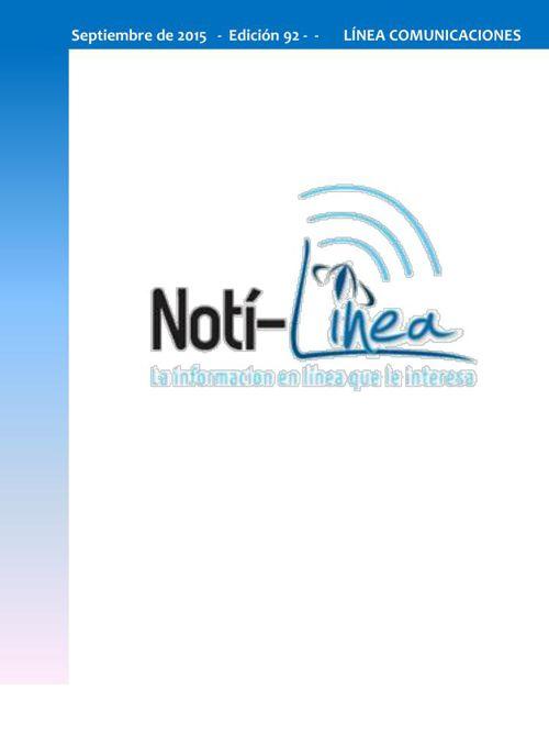 Septiembre Notilinea No 92 - 2015