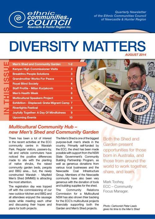 Diversity Matters August 2014