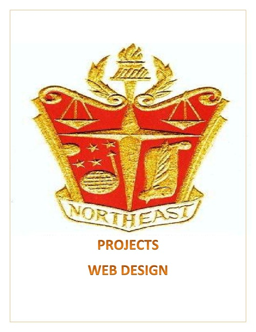 Projects for Web Design Class