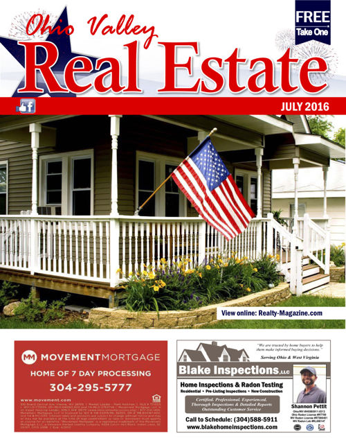 Ohio Valley Real Estate Magazine - July