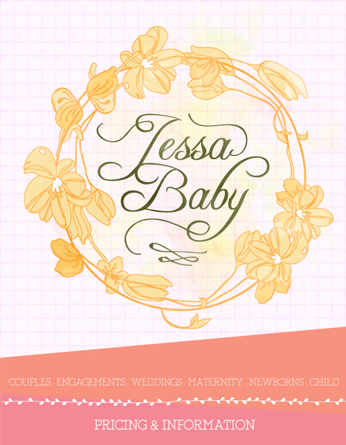 Jessa Baby Photography Client Guide!