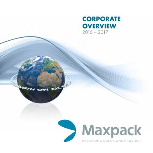 Maxpack Corporate Brochure 2016