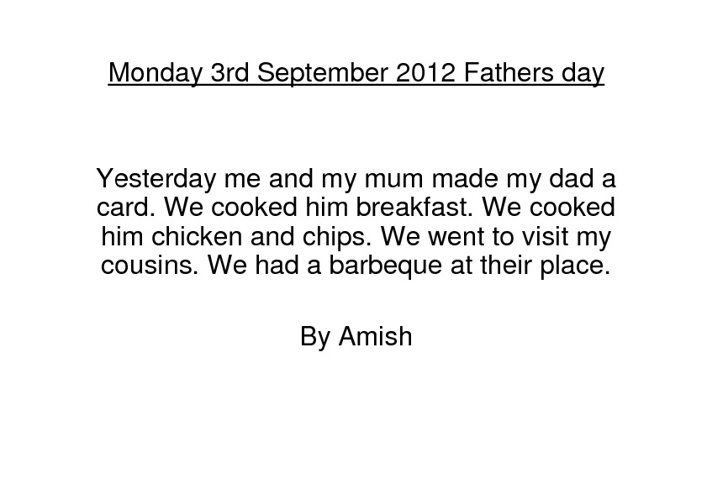 Our Father's Day Stories