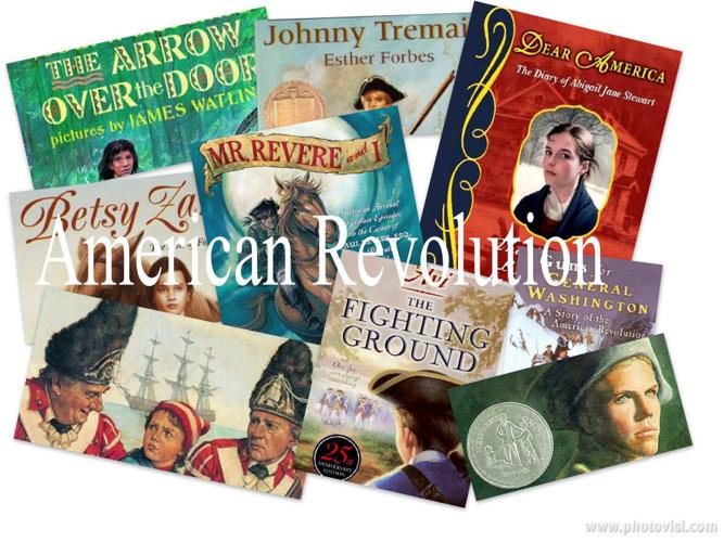 Mrs. Robson's American Revolution Book Tasting