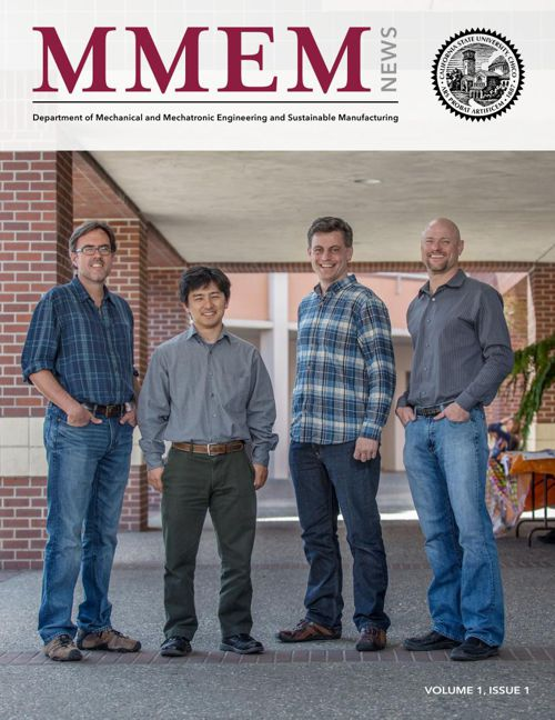 MMEM Newsletter Volume 1, Issue 1