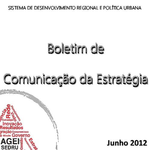 Boletim da Comunicação da Estratégia - Junho 2012