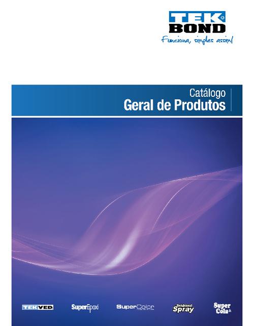 Catálogo Geral TEKBOND - ATB