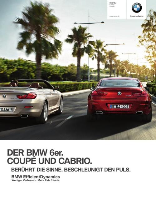 BMW 6er Cabrio. Das Exklusive