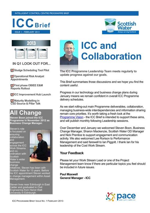 ICC Brief - February 2013
