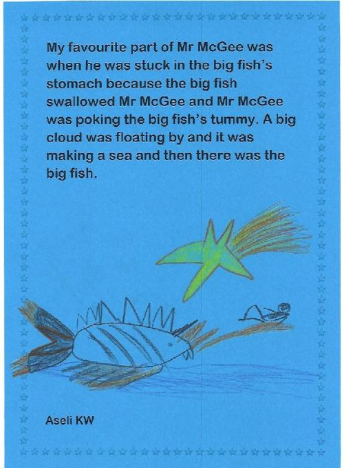 Kindergarten Writing Comp Winners 2012