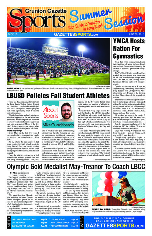 Gazette Sports | June 30, 2016