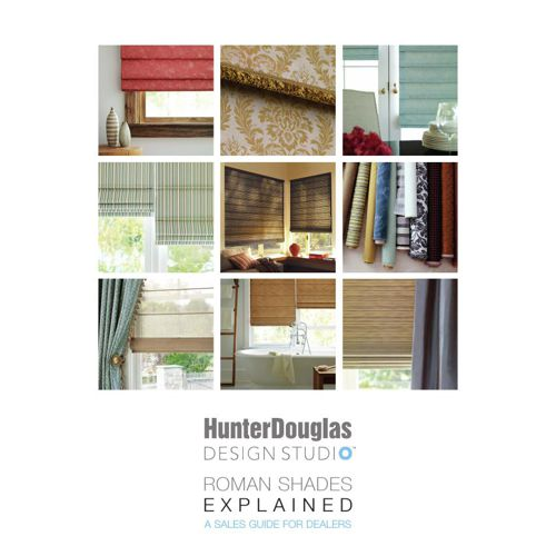 hunter douglas design studio brochure