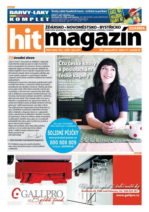 Hit magazín č.17 2013
