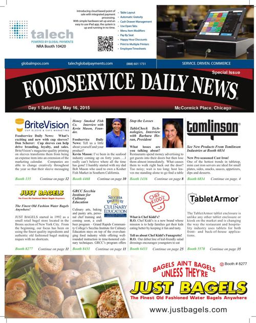 Foodservice Daily News NRA 2015 Day 1