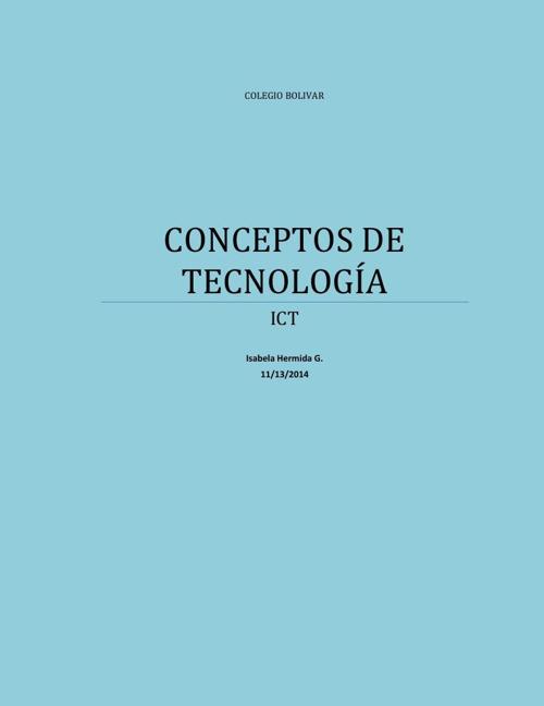 CONCEPTOS DE TECNOLOGÍA pdf