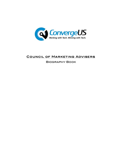 Council of Marketing Advisers