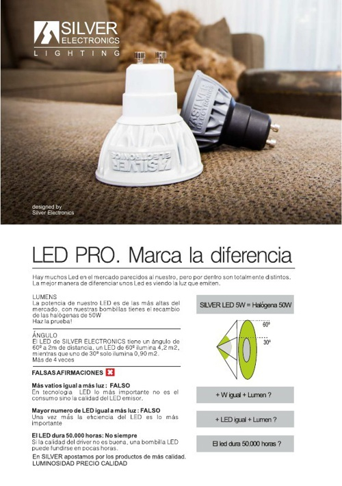 Silver Lighting . Marca la diferencia