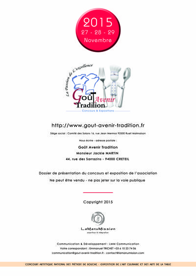 Partenariat GAT 2015