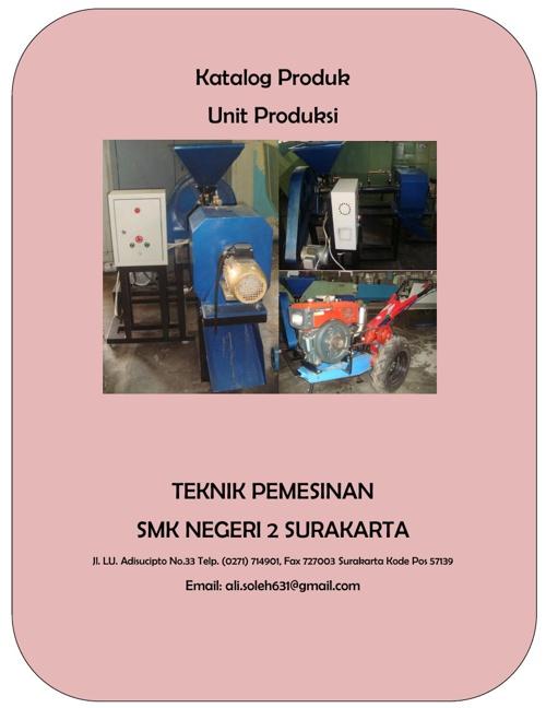 Katalog Produk Unit Produksi