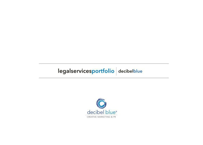 Decibel Blue - Legal Services Showcase