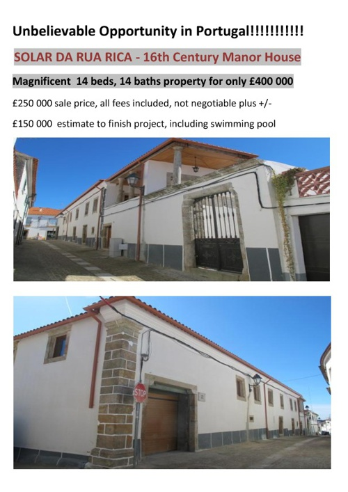 Unbelievable value in Portugal