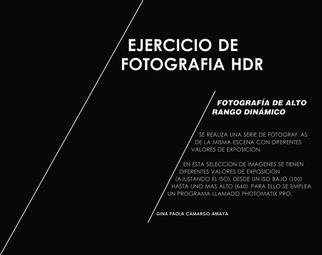 FOTOGRAFIA HDR