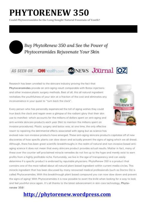 Phytorenew